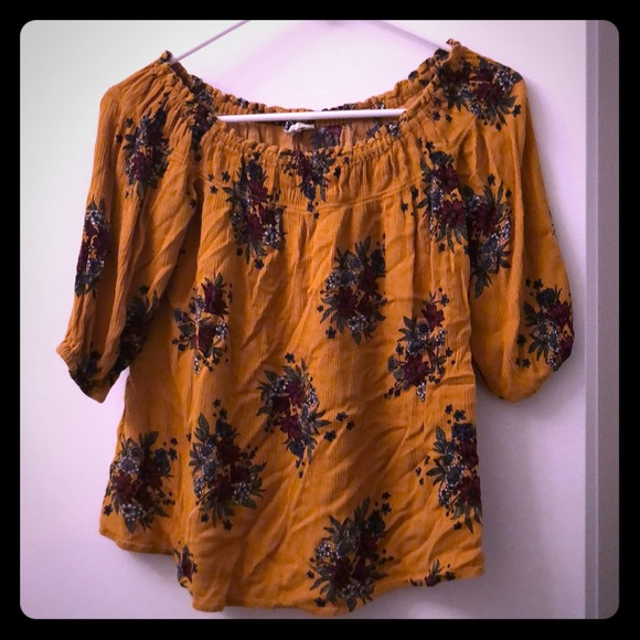 Yigal Azrouel Tops - Floral pattern 3/4 blouse
